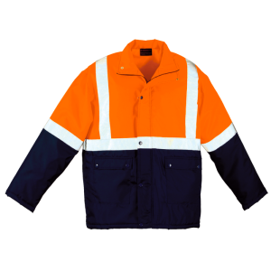 high vis padded jackets