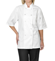 Altitude Basic Short Sleeve Chef Jacket