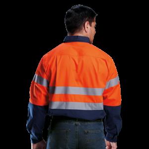 Barron Long Sleeve Safety Shirts
