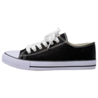 Canvas lace up shoe