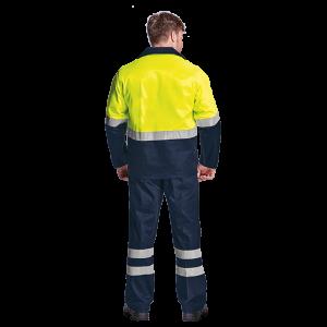 Premier conti suit with reflective