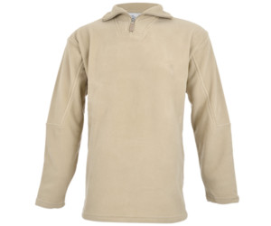 Altitude Quarter Zip Fleece Sweater Stone