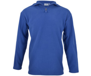 Altitude Quarter Zip Fleece Sweater Royal