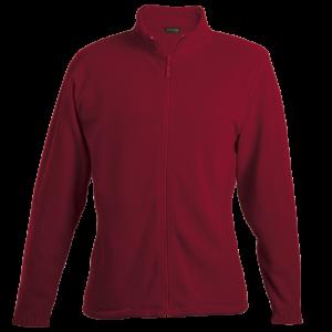 Barron Ladies Fleece Jacket Red