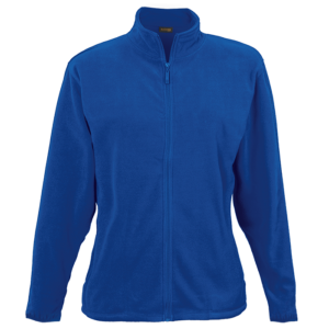 ladies fleece jacket Royal Blue