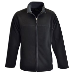 Bonded Fleece Jacket Black