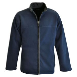 Bonded Fleece Jacket Navy