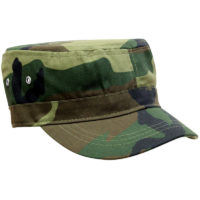 camo fidel hat